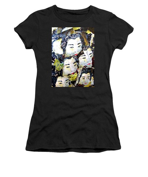 Geisha Girls Women's T-Shirt (Athletic Fit)