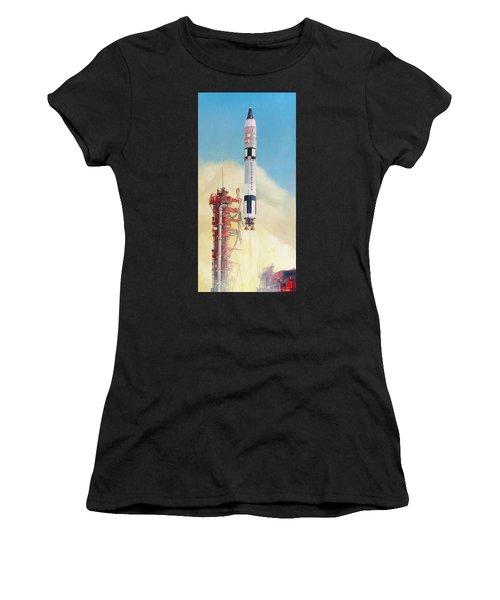 Gemini-titan Launch Women's T-Shirt (Athletic Fit)