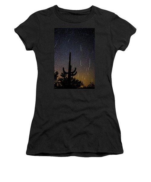 Geminid Meteor Shower #2, 2017 Women's T-Shirt