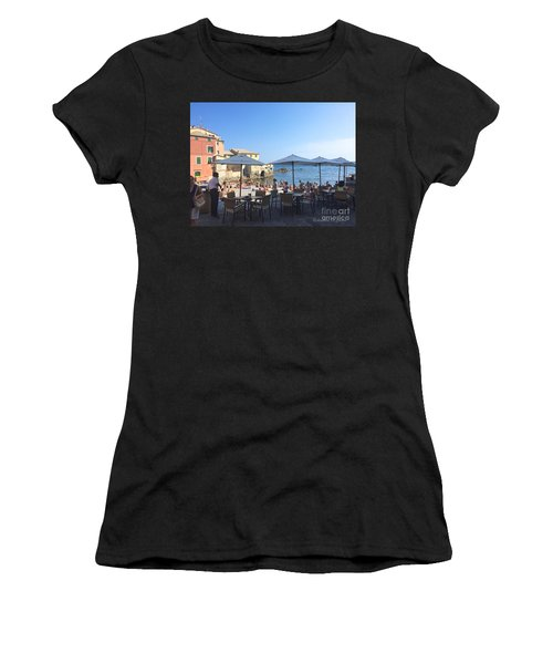 Genova, Boccadasse Women's T-Shirt (Athletic Fit)
