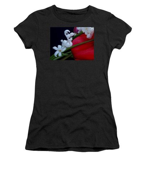 Gentle Breeze Women's T-Shirt (Junior Cut) by Lisa Kaiser