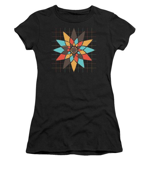 Geometric Flower Women's T-Shirt
