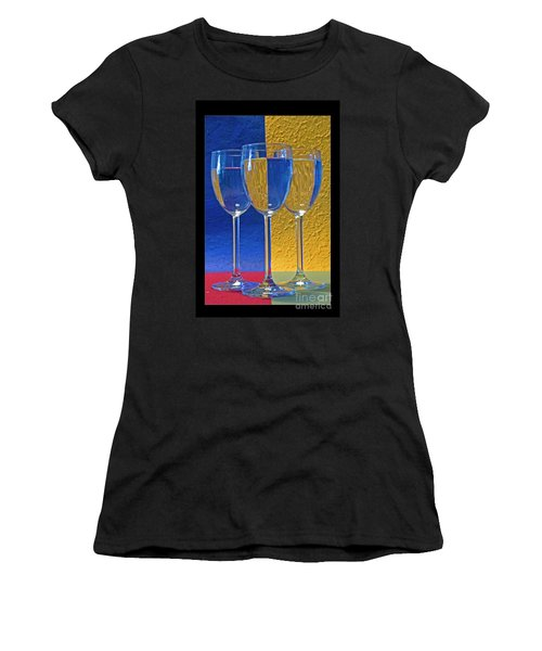 Geometrical Shapes, Colours And Glasses Women's T-Shirt