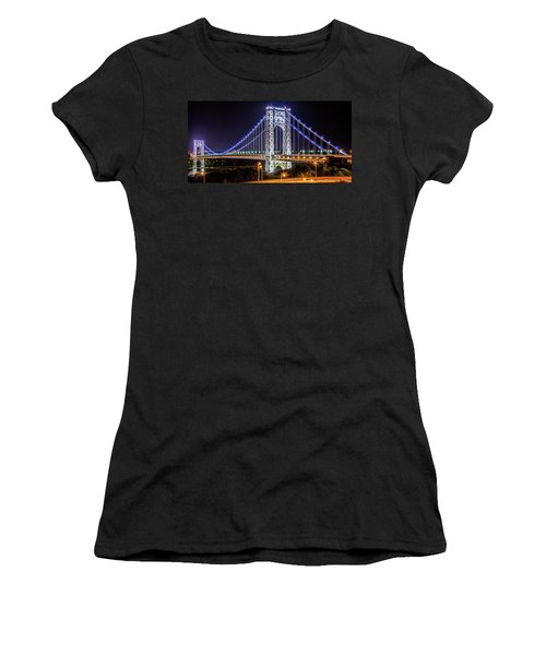 George Washington Bridge - Memorial Day 2013 Women's T-Shirt (Athletic Fit)