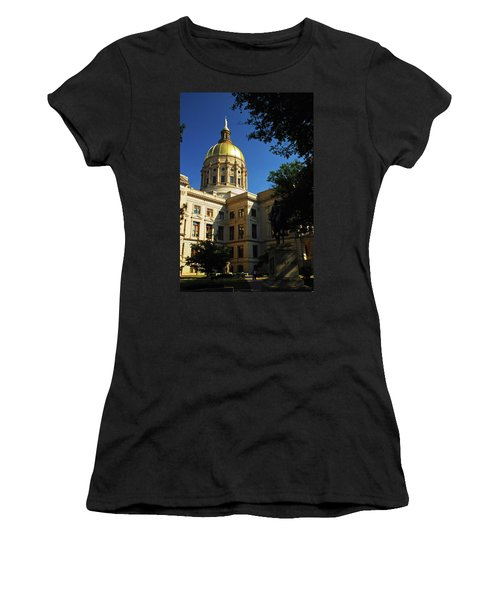 Georgia State Capitol Women's T-Shirt (Athletic Fit)