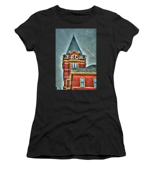 Georgia Tech Tower 8 Georgia Institute Of Technology Art Women's T-Shirt