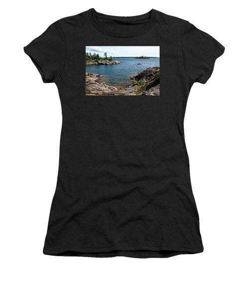 Georgian Bay Islands Women's T-Shirt (Athletic Fit)