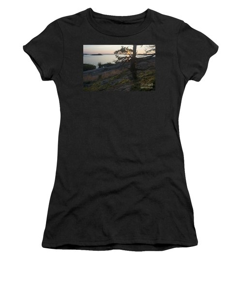 Georgian Bay Sunrise-moss 4253 Women's T-Shirt