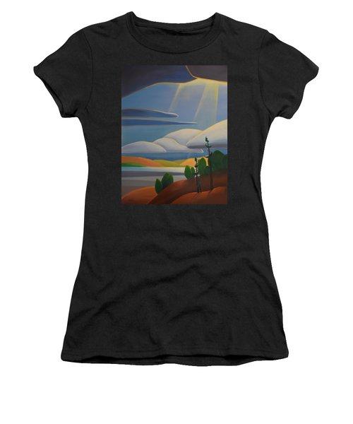 Georgian Shores - Left Panel Women's T-Shirt