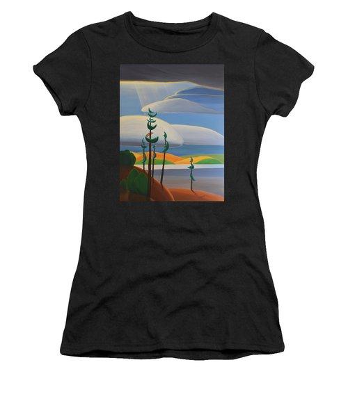 Georgian Shores - Right Panel Women's T-Shirt