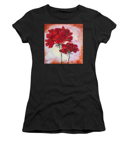 Geranium Women's T-Shirt (Athletic Fit)