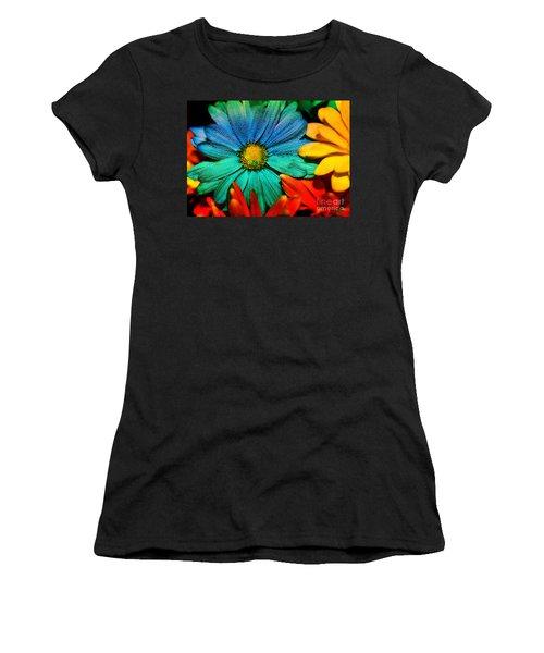 Gerbera Daisy Women's T-Shirt (Junior Cut) by Tina LeCour
