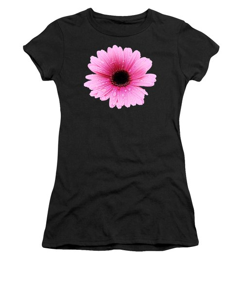 Gerbera Pink - Daisy - Up Close Women's T-Shirt (Athletic Fit)