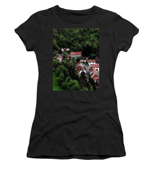 German Village Women's T-Shirt (Athletic Fit)