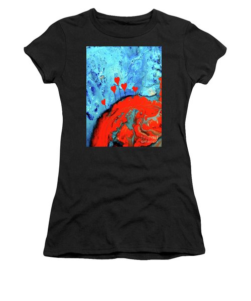 Germinating Love Women's T-Shirt (Athletic Fit)