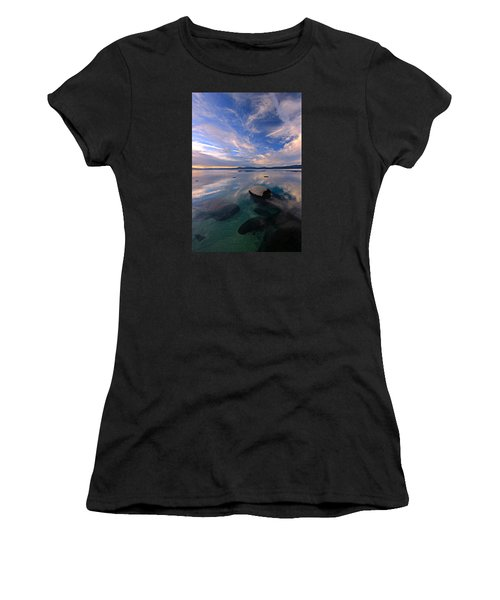 Get Into Nature Women's T-Shirt (Junior Cut) by Sean Sarsfield