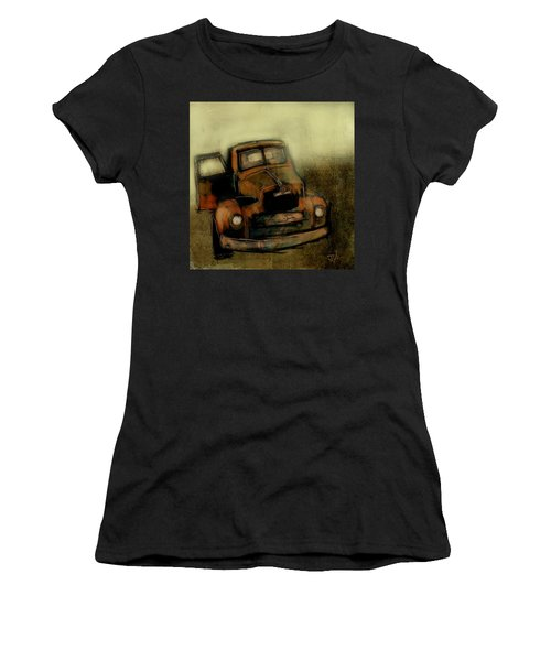 Getaway Truck Women's T-Shirt (Junior Cut) by Jim Vance