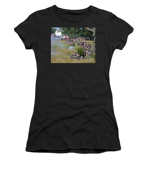 Gettysburg Confederate Infantry 8825c Women's T-Shirt