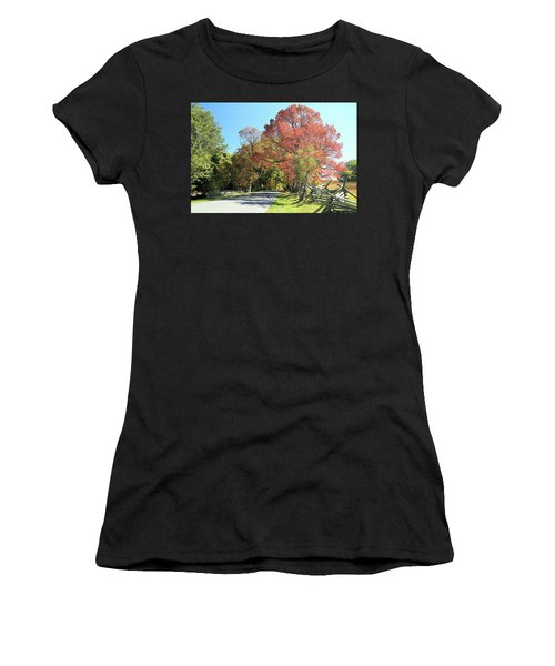 Gettysburg  In The  Fall Women's T-Shirt