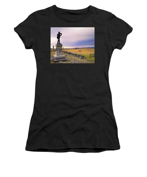 Gettysburg Monument I Women's T-Shirt (Junior Cut) by Marianne Campolongo