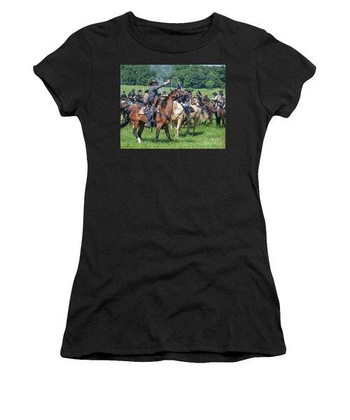 Gettysburg  Union Cavalry 7920c  Women's T-Shirt
