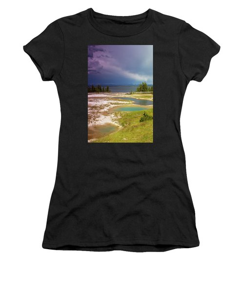 Geysers Pools Women's T-Shirt (Athletic Fit)