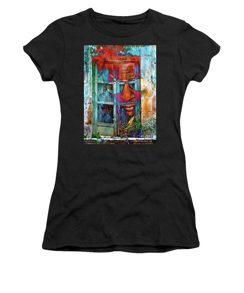 Ghost Goes Through Wall Women's T-Shirt