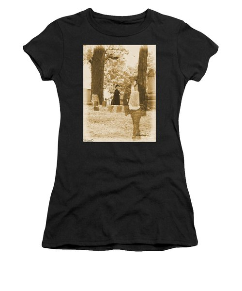 Ghost In The Graveyard Women's T-Shirt (Athletic Fit)