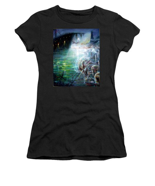 Ghost Ship 2 Women's T-Shirt (Athletic Fit)