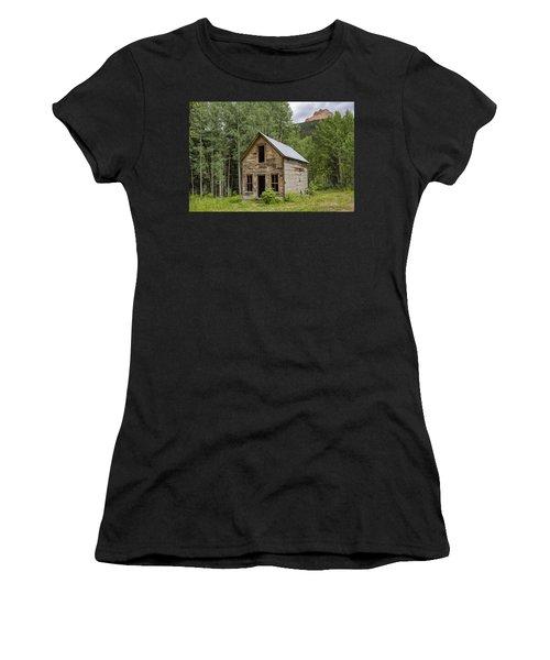 Ghost Town Schoolhouse Women's T-Shirt