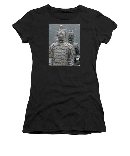 Ghost Warriors Women's T-Shirt (Athletic Fit)