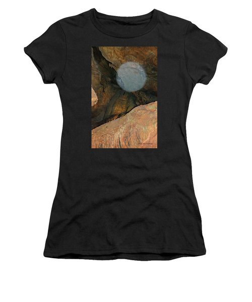 Ghostly Presence Women's T-Shirt (Junior Cut) by DigiArt Diaries by Vicky B Fuller