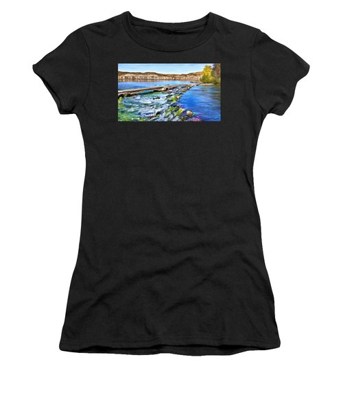 Giant Springs 3 Women's T-Shirt (Athletic Fit)