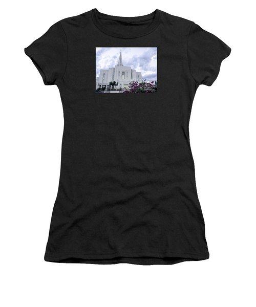 Gilbert Arizona Lds Temple 2 Women's T-Shirt (Athletic Fit)