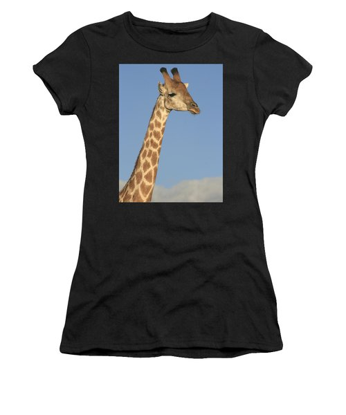 Giraffe Portrait Women's T-Shirt