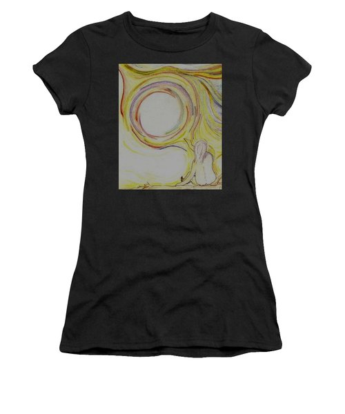 Girl And Universe Creative Connection Women's T-Shirt