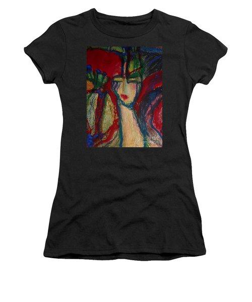 Girl In Darkness Women's T-Shirt