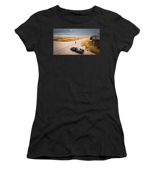 Girl Of The Golden West Women's T-Shirt (Athletic Fit)