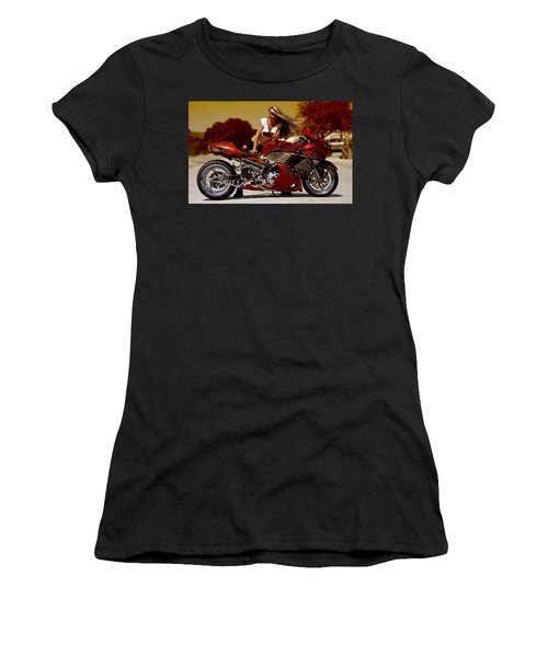 Girl On Fire Women's T-Shirt