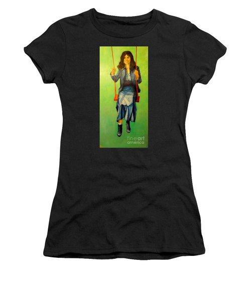 Girl On The Swing  80x160 Cm Women's T-Shirt