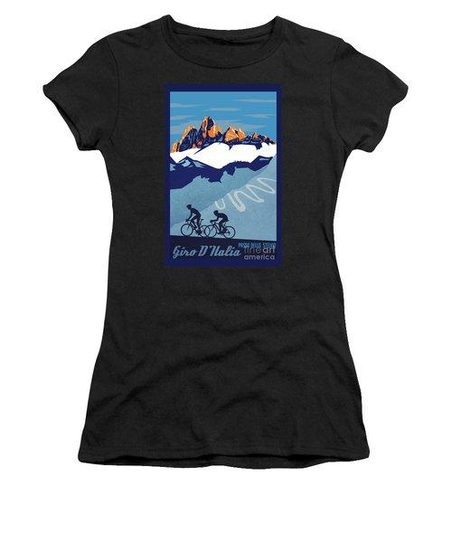 Giro D'italia Cycling Poster Women's T-Shirt
