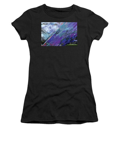 Glacial Vision Women's T-Shirt (Athletic Fit)