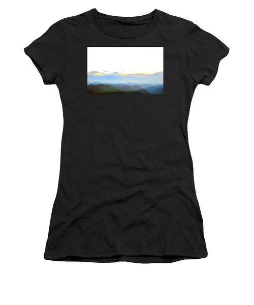Glacier Peak At Sunrise Women's T-Shirt