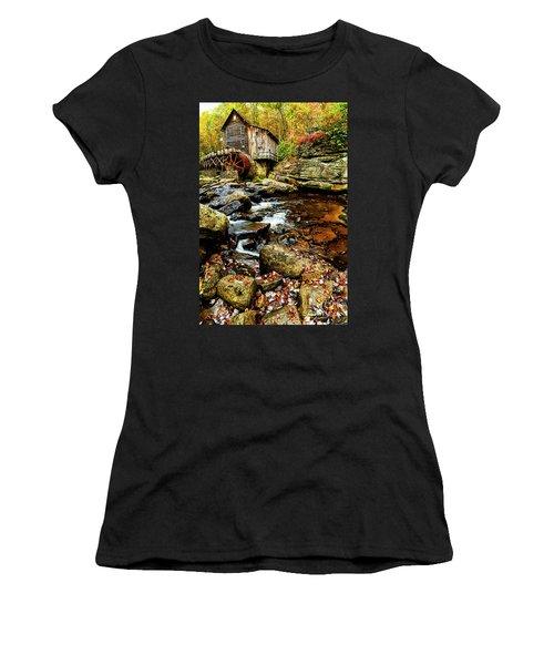 Glade Creek Grist Mill Fall  Women's T-Shirt