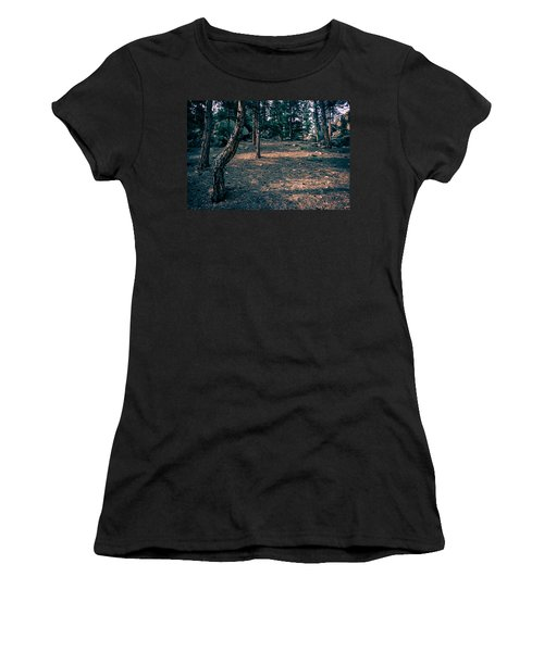 Glade In The Forest Of Colorado Women's T-Shirt