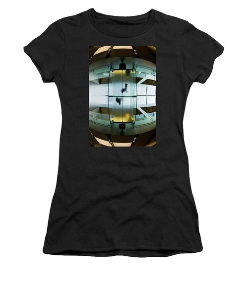 Glass Walkway Apple Store Stockton Street San Francisco Women's T-Shirt (Athletic Fit)