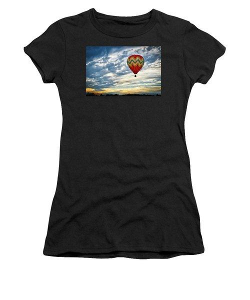 Gliding Through Sunset Women's T-Shirt