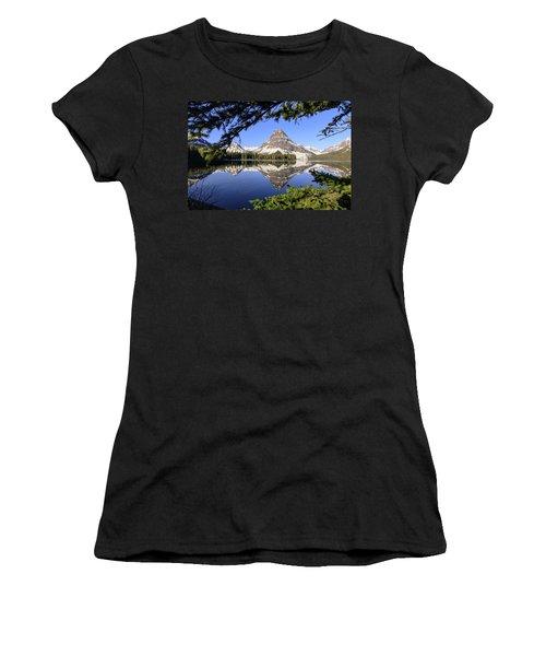 Glimpse Of Paradise Women's T-Shirt (Athletic Fit)