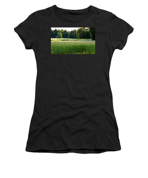 Glistening Green Women's T-Shirt