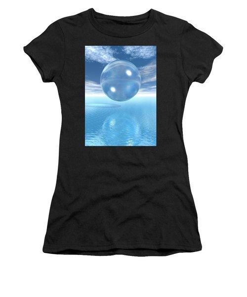 Globe Women's T-Shirt (Athletic Fit)